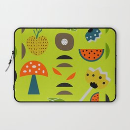 Modern decor with fruits and flowers Laptop Sleeve