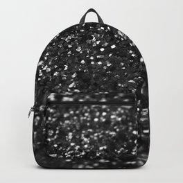 Black & Silver Glitter #1 #decor #art #society6 Backpack