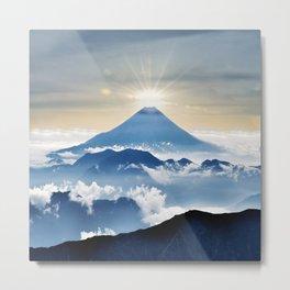 Mt. Fuji Sunrise Metal Print