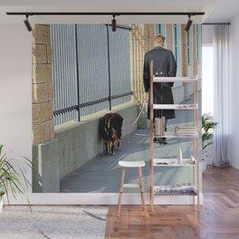The Shadow Striper's Dog Walk Wall Mural