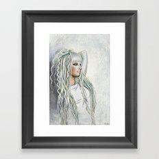Elevinn Iridian Framed Art Print