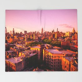 New York, I Love You (West Village Edition) Throw Blanket