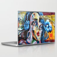 madonna Laptop & iPad Skins featuring Madonna by Robin Curtiss