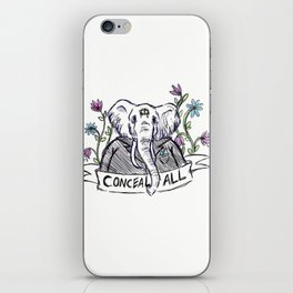 Conceal All iPhone Skin
