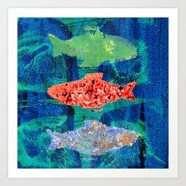 Reef Dwellers Art Print