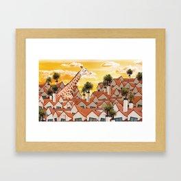 Zoológica Framed Art Print