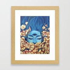 Deosil Framed Art Print