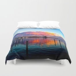 Long Wharf Duvet Cover