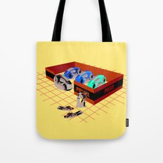 END OF LINE Tote Bag