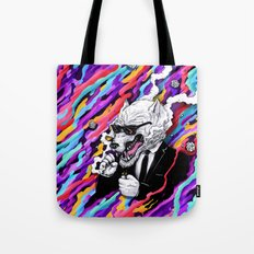 Lone Wolf Tote Bag