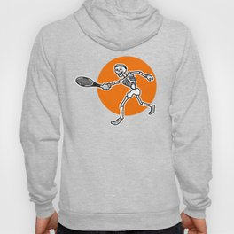 Calavera playing Tennis Hoody