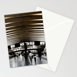 Lyon airport walkway Stationery Cards