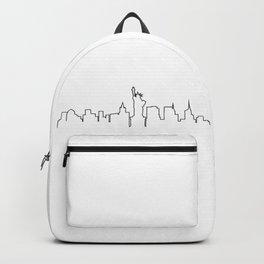 One Line - New York Skyline Backpack