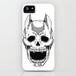 Killer Queen Skull (JoJo's Bizarre Adventure) iPhone Case