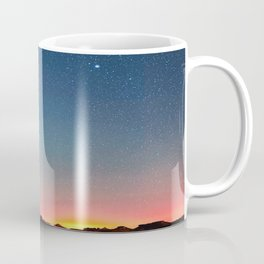 Bisti Badlands Hoodoos Under New Mexico Stary Night Coffee Mug