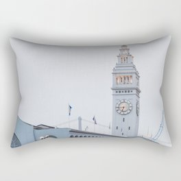 At the Ferry Building in San Francisco Rectangular Pillow