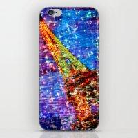 eiffel iPhone & iPod Skins featuring Eiffel by haroulita