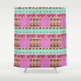 Candy Plaid Shower Curtain