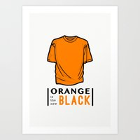 oitnb Art Prints featuring OITNB by Sandi Panda