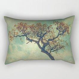 Rusty Tree  Rectangular Pillow