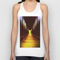 model Tank Tops featuring Model  by HourAfterOur Collective
