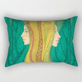 Summer / Dryads Rectangular Pillow
