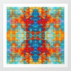 popanaart_pattern Art Print
