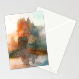 Eltz Castle, Watercolor Stationery Cards