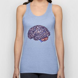 Brain Storming and tangled thoughts Unisex Tank Top