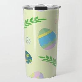 Easter eggs pattern Travel Mug