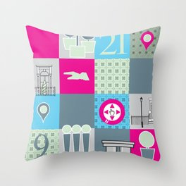 Stuff from SW3  Throw Pillow