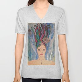 Daughter of the Deep Unisex V-Neck
