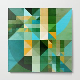 Mosaico 174 Metal Print
