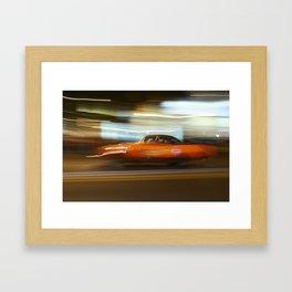 Night Slalom - Datsun 1200 Framed Art Print