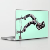 hiphop Laptop & iPad Skins featuring B GIRL by ARTito