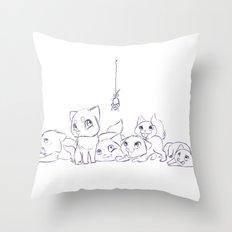 Cat's Throw Pillow