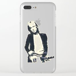 Tom Petty Clear iPhone Case
