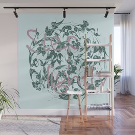 Step lightly - the world requests Wall Mural