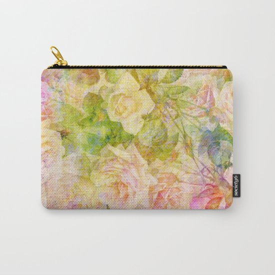 douces roses Carry-All Pouch