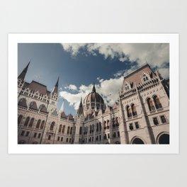 Budapest, Parlament Art Print