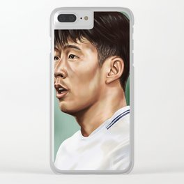 Son Heung-min Clear iPhone Case