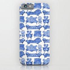 Victorian Lounge – Navy Palette iPhone 6s Slim Case