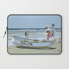 Avalon, Cooler by a Mile Laptop Sleeve