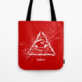 Under His Eye Tote Bag