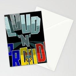 Moldova Pride Loud N Proud Stationery Cards