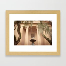 College of Charleston Framed Art Print