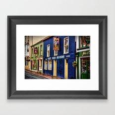Paddy Bawn Brosnans Bar in Dingle Framed Art Print