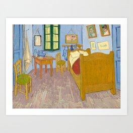Van Gogh   Bedroom In Arles   Painting Art Print