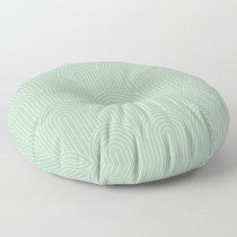 Art Deco Arch Pattern XX Floor Pillow