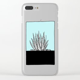 Cute Succulent and Cacti Series 02 Clear iPhone Case